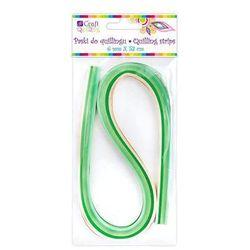 Paski do qullingu Dalprint QGPQ-012/100szt. - zielone - produkt z kategorii- Pozostałe artykuły do decoupage