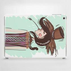 Etui na iPad Air: Cowgirl, towar z kategorii: Pokrowce i etui na tablety