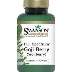 Full Spectrum Goji 500mg 60kaps (Pozostałe leki i suplementy)