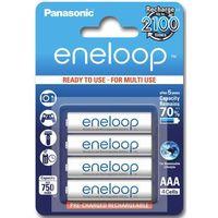 4 x akumulatorki  eneloop r03 aaa 800mah bk-4mcce/4be (blister) od producenta Panasonic