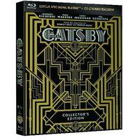 Wielki Gatsby (Edycja kolekcjonerska) (Blu-Ray + CD) - Baz Luhrmann