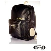 FYDELITY Plecak Namesake DayTripper Black - z głośnikami do podłączenia MP3/telefonu, towar z kategorii: T