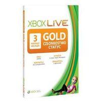 Xbox live gold 3 mc 52k-00270/ darmowy transport dla zamówień od 99 zł marki Microsoft