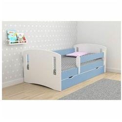 Łóżko dla chłopca z materacem pinokio 3x 80x140 - niebieskie marki Producent: elior