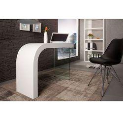 Biurko onice 120 cm białe wyprodukowany przez Interior