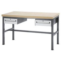 Stół warsztatowy z płytą mdf,2 szuflady, wys. 150 mm marki Rau