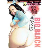 BIG BLACK ASSES 5 DVD pack