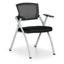 Krzesło konferencyjne Rest, czarne