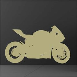 motocykl sportowy szablon do malowania 2310