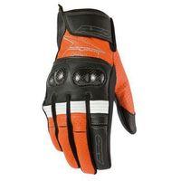 Rękawice  pro race pomarańczowe supermoto marki Axo
