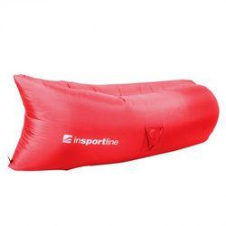 Dmuchana sofa inSPORTline Sofair materac fotel - Kolor Czerwony, kup u jednego z partnerów