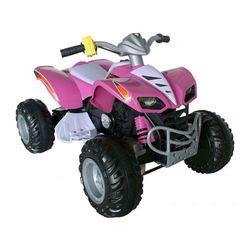 OGROMNY QUAD TURBO 12V różowy - produkt z kategorii- Pojazdy elektryczne
