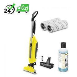 Fc 5 mop elektryczny + rm 536 (500 ml) uniwersalny środek do czyszczenia podłóg + zestaw padów szarych 575-811-911 | negocjuj cenę online marki Karcher