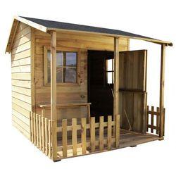 Drewniany domek ogrodowy dla dzieci MALWINKA