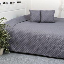 narzuta na łóżko orient szary, 220 x 240 cm, 40 x 40 cm marki 4home