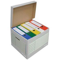 pudło archiwizacyjne otwierane z góry 410x350x300mm szary, 10 sztukac marki Pressel