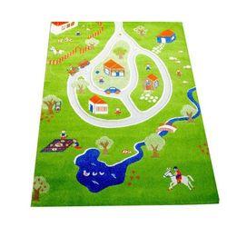 Dywan Wioska 3D 134 x 180 cm zielony, 101MD011YE13182