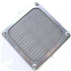 Aab cooling  aluminiowy filtr/grill 92 srebrny - srebrny