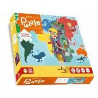 Puzzle 300 Mapa Świata - SZYBKA WYSYŁKA (od 49 zł gratis!) / ODBIÓR: ŁOMIANKI k. Warszawy