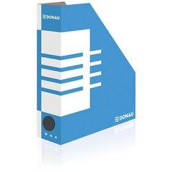 Pojemnik na dokumenty DONAU, karton, A4/80mm, niebieski