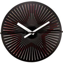 Zegar ścienny Kinegram Red Star Nextime 30 cm - pulsująca, czerwona gwiazda, kolor czerwony