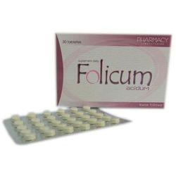 FOLICUM ACIDUM 30 tabletek - sprawdź w wybranym sklepie