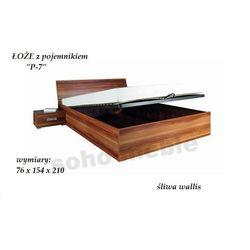 ŁOŻE Z POJEMNIKIEM P-7 76x154x210cm SYPIALNIA PENELOPA - produkt dostępny w soho-meble