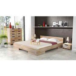 Łóżko drewniane sosnowe spectrum long 90-200x220 marki Skandica
