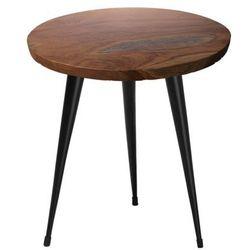 Stolik kawowy drewno tekowe DETAH (4260602371366)