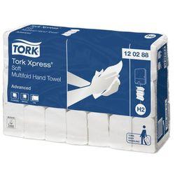 Ręcznik papierowy w składce M Tork Xpress® Multifold 2 warstwy 2856 szt. biały celuloza, 120288