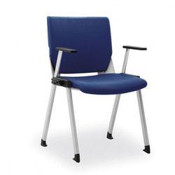 Krzesło konferencyjne variax congress, niebieske marki B2b partner