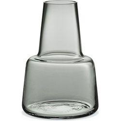 Szklany wazon Flora, szary, średni - HolmeGaard (5706422102463)