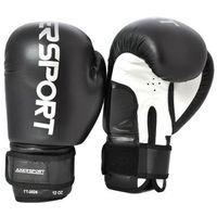 Rękawice bokserskie  a1317 czarno-biały (8 oz) marki Axer sport