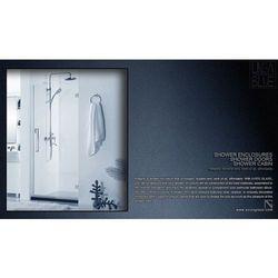 Drzwi prysznicowe AXISS GLASS AN6211WD 700mm L - produkt z kategorii- Drzwi prysznicowe