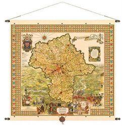 Województwo mazowieckie mapa ścienna 97x92 cm Pergamena (mapa szkolna)