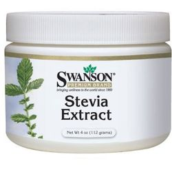 SWANSON Stevia Extract 112g (słodzik) - produkt z kategorii- Redukcja tkanki tłuszczowej