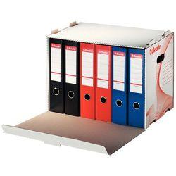 Pudło archiwizacyjne otwierane z przodu na segregatory białe (525x338x306) marki Esselte