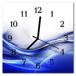 Zegar ścienny kwadrat Abstrakcyjne linie