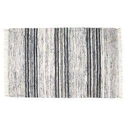 HK Living Jedwabny dywan czarno-biały 120x180cm TAP0860, TAP0860