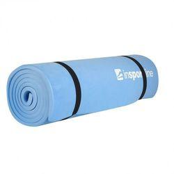 Karimata do ćwiczeń  eva mata 180 x 50 x 1 cm - kolor niebieski, marki Insportline