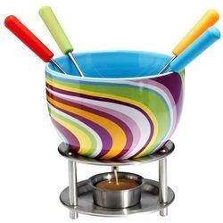 Mastrad - Czekoladowe fondue, zestaw - kolorowe paseczki