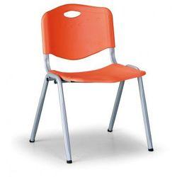 Krzesło kuchenne handy, pomarańczowy marki B2b partner