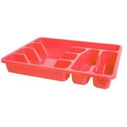 Wkład do szuflad duży czerwony 38 x 29,5 cm - zielony marki Smart kitchen