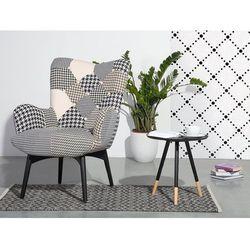 Stolik kawowy czarny - ława kawowa - stół - juneau marki Beliani