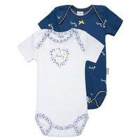Absorba LIBERTY CHIC 2 PACK Body hussard z kategorii body niemowlęce