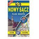 Nowy Sącz plan miasta 1:20 000 - Praca zbiorowa