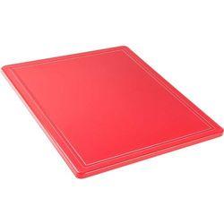 Stalgast Deska do krojenia gn 1/2 czerwona 341321