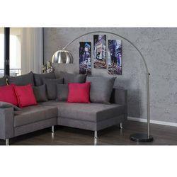 Interior Lampa podłogowa murano 170-210 cm srebrna