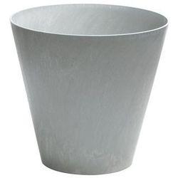 Doniczka Tubus Beton Prosperplast : Średnica - 400 mm, Kolor - Beton, DTUB400B-422U