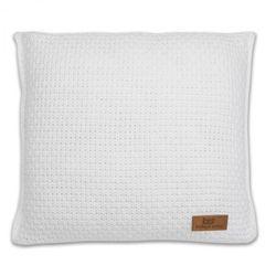 Baby's only , robust white poduszka z tkaną powłoczką, 40x40cm, biała